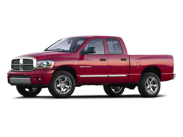 2008 Dodge Ram 1500 Prices and Values Quad Cab SXT 2WD side front view