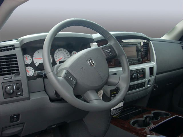 2008 Dodge Ram 1500 Prices and Values Quad Cab SXT 2WD full dashboard