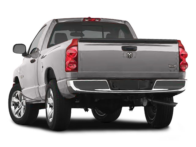 2008 Dodge Ram 1500 Prices and Values Regular Cab SXT 4WD side rear view