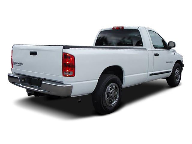 2008 Dodge Ram 2500 Prices and Values Regular Cag SXT 2WD side rear view
