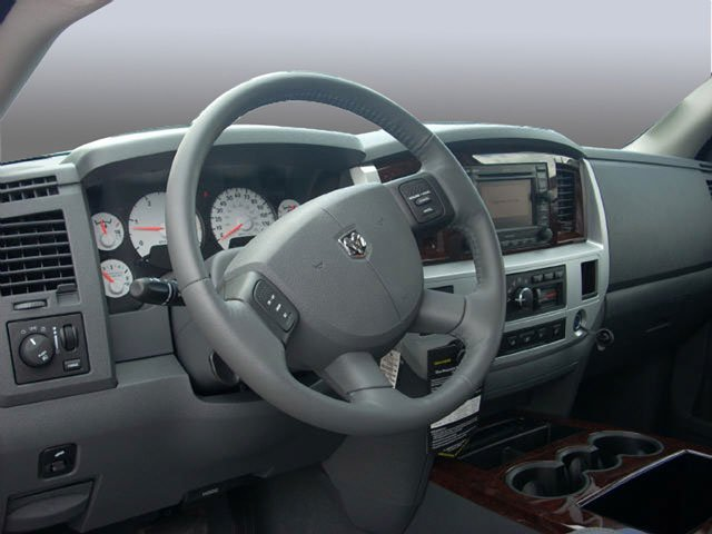 2008 Dodge Ram 2500 Prices and Values Regular Cag SXT 2WD full dashboard