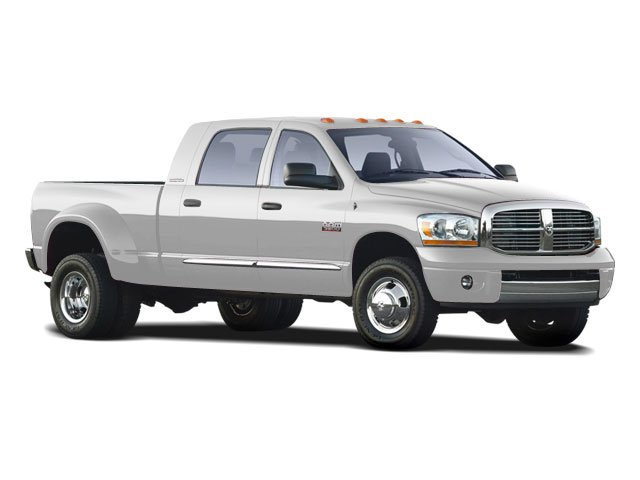 2008 Dodge Ram 3500 Pictures Ram 3500 Mega Cab Laramie 2WD T-Diesel photos side front view