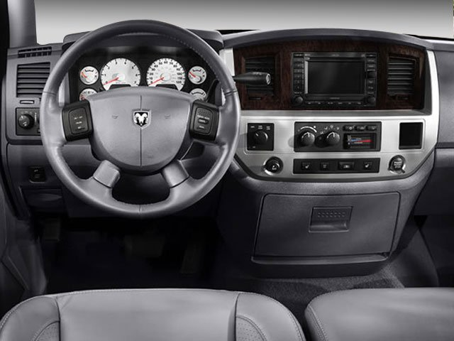 2008 Dodge Ram 3500 Prices and Values Mega Cab Laramie 4WD T-Diesel driver's dashboard
