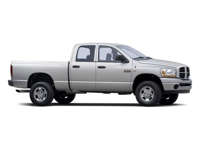 2008 Dodge Ram 3500 Prices and Values Quad Cab Laramie 2WD side front view