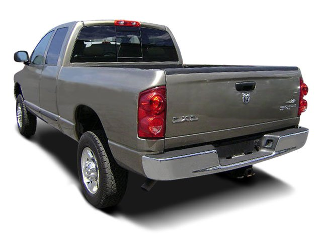 2008 Dodge Ram 3500 Prices and Values Quad Cab Laramie 2WD side rear view