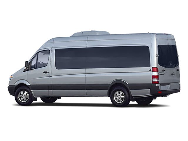 2008 Dodge Sprinter Wagon Prices and Values Passenger Van High Roof side rear view