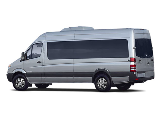 2008 Dodge Sprinter Wagon Prices and Values Passenger Van side rear view