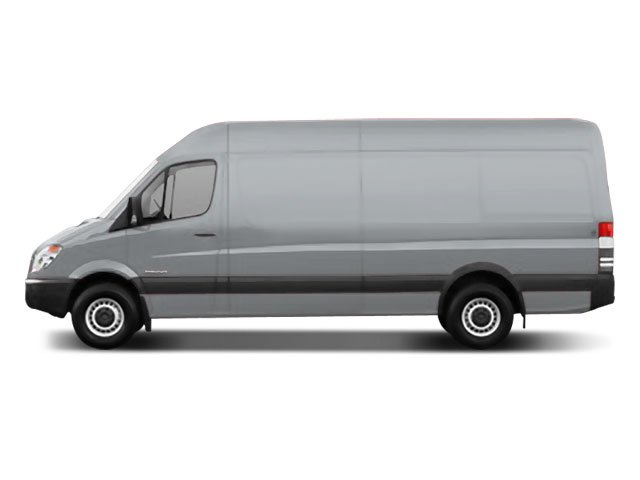2008 Dodge Sprinter Wagon Prices and Values Passenger Van High Roof side view