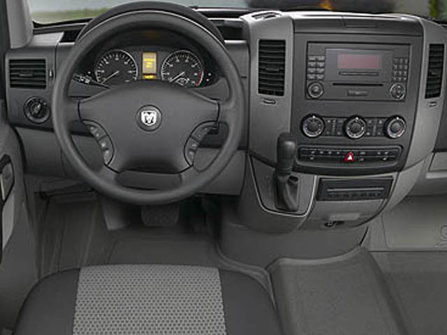 2008 Dodge Sprinter Wagon Prices and Values Passenger Van driver's dashboard