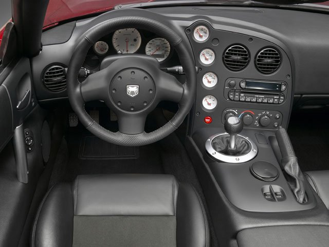 2008 Dodge Viper Pictures Viper 2 Door Coupe photos driver's dashboard