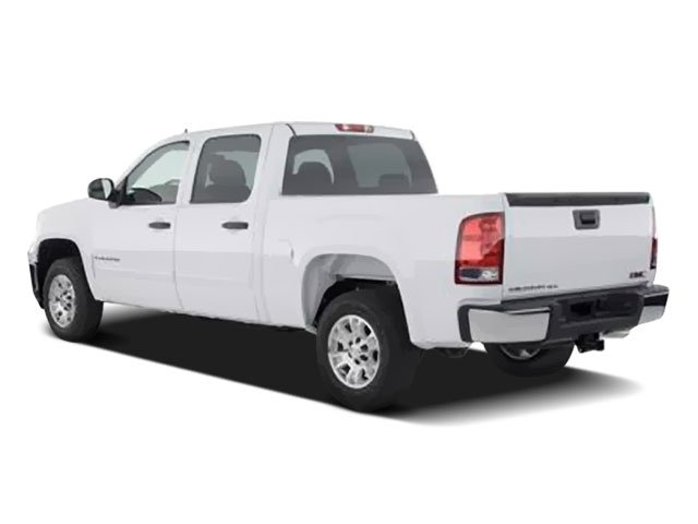 2008 GMC Sierra 1500 Prices and Values Crew Cab SLT 4WD side rear view