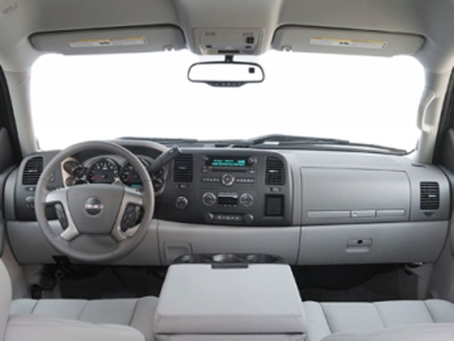 2008 GMC Sierra 1500 Prices and Values Crew Cab SLT 4WD full dashboard