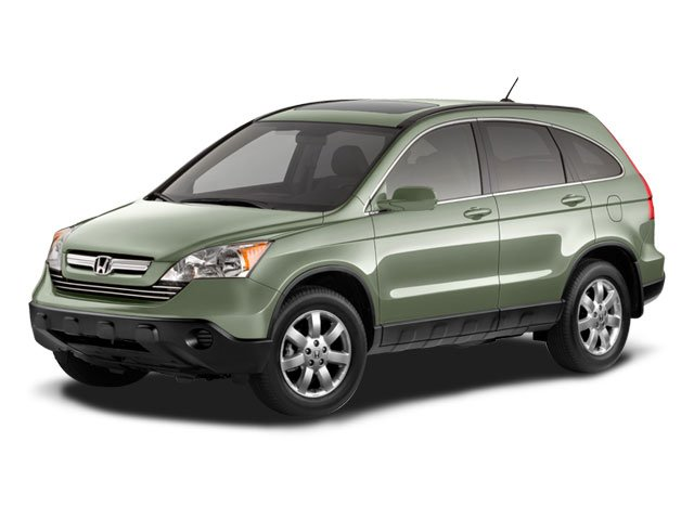 2008 Honda CR-V Prices and Values Utility 4D EX-L 4WD side front view