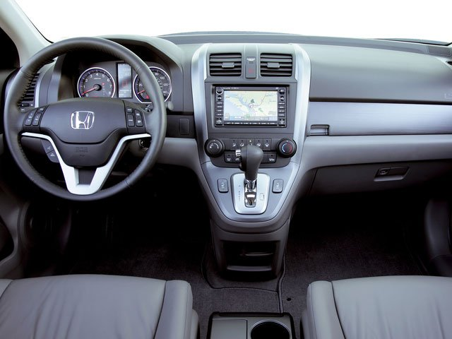 2008 Honda CR-V Prices and Values Utility 4D EX-L 4WD full dashboard