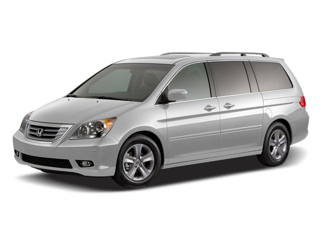 2008 Honda Odyssey Prices and Values Wagon 5D Touring DVD Nav side front view