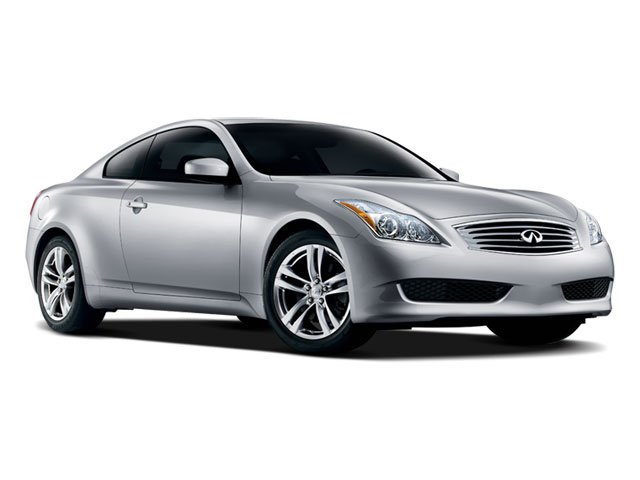 2008 INFINITI G37 Coupe Prices and Values Coupe 2D 6 Spd side front view