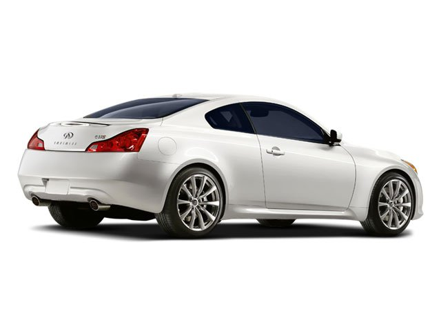 2008 INFINITI G37 Coupe Prices and Values Coupe 2D 6 Spd side rear view