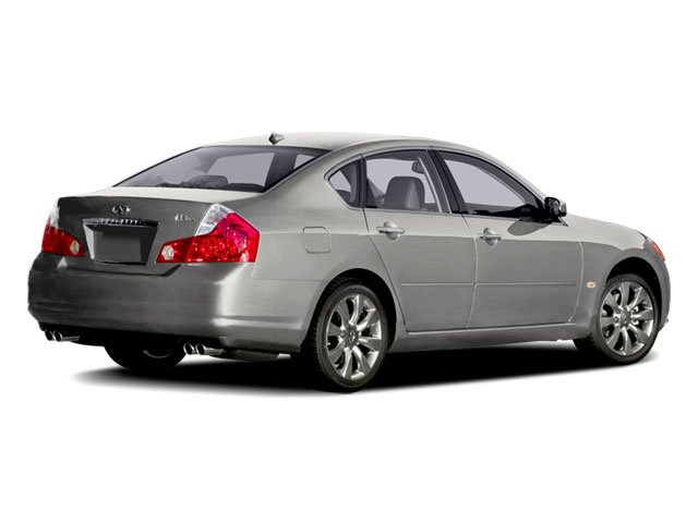 2008 INFINITI M35 Prices and Values Sedan 4D side rear view