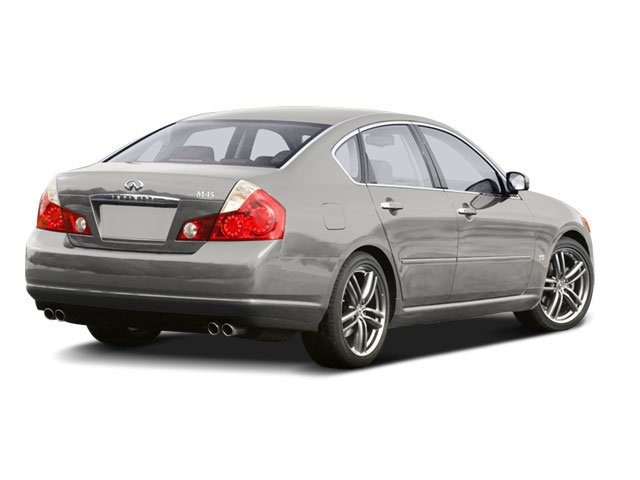 2008 INFINITI M45 Pictures M45 Sedan 4D photos side rear view