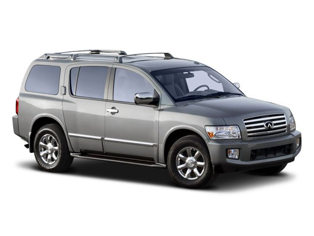 2008 INFINITI QX56 Prices and Values Utility 4D 2WD side front view