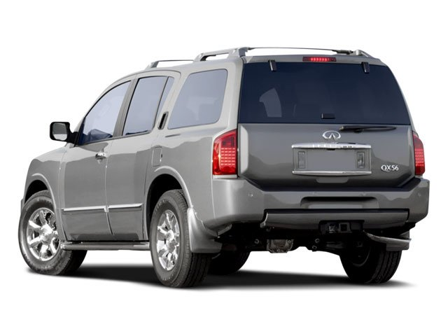 2008 INFINITI QX56 Prices and Values Utility 4D 2WD side rear view