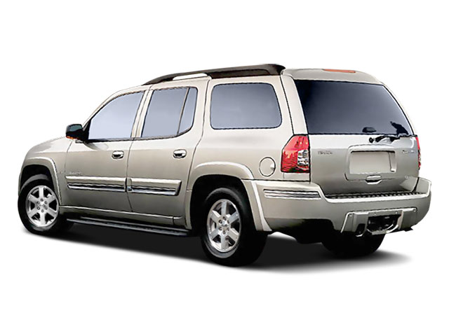 2008 Isuzu Ascender Prices and Values Utility 4D Luxury 4WD side rear view