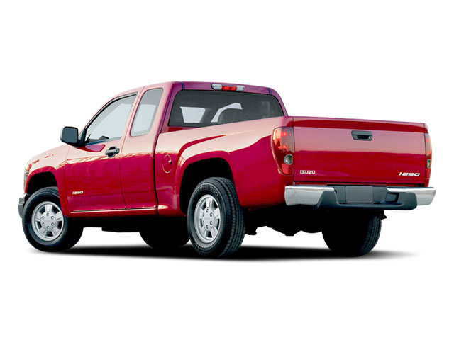 2008 Isuzu i-290 Prices and Values Extended Cab i-290 S 2WD side rear view