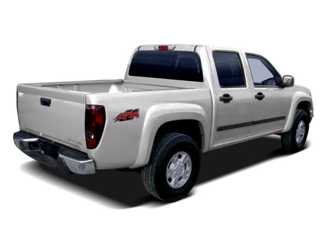 2008 Isuzu i-370 Prices and Values Crew Cab i-370 LS 4WD side rear view