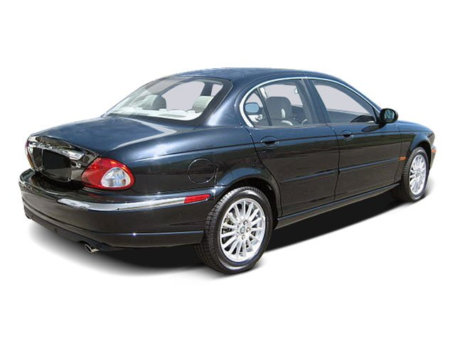 2008 Jaguar X-TYPE Prices and Values Sedan 4D 3.0 AWD side rear view