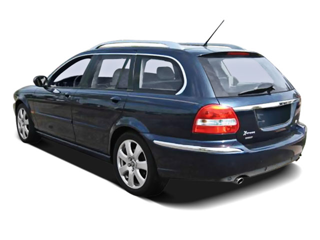 2008 Jaguar X-TYPE Prices and Values Wagon 4D 3.0 AWD side rear view
