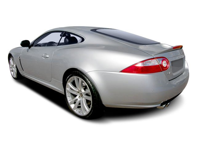 2008 Jaguar XK Prices and Values Coupe 2D XKR Supercharged side rear view