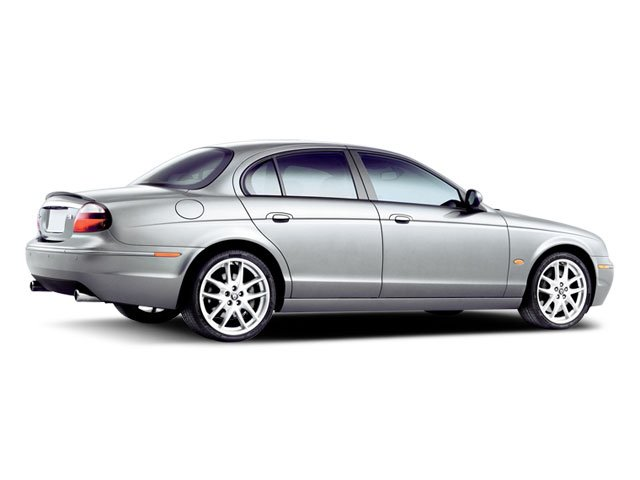 2008 Jaguar S-TYPE Prices and Values Sedan 4D 4.2 side rear view