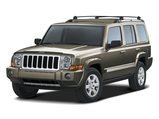 2008 Jeep Commander Prices and Values Utility 4D Overland HEMI 4WD