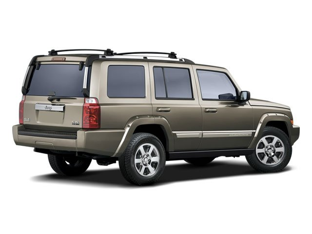 2008 Jeep Commander Prices and Values Utility 4D Overland HEMI 4WD side rear view