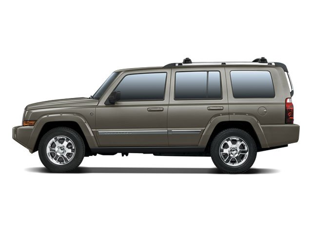 2008 Jeep Commander Prices and Values Utility 4D Overland HEMI 4WD side view