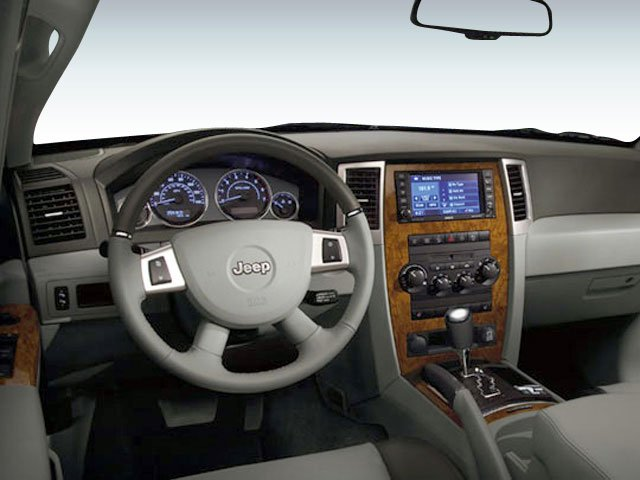 2008 Jeep Grand Cherokee Prices and Values Utility 4D Laredo 2WD full dashboard