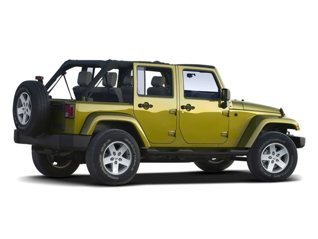 2008 Jeep Wrangler Prices and Values Utility 4D Unlimited X 2WD side rear view
