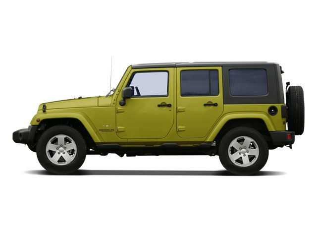 2008 Jeep Wrangler Prices and Values Utility 4D Unlimited X 2WD side view