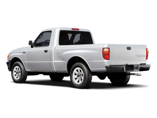 2008 Mazda B-Series Truck Prices and Values SE-5 2WD side rear view