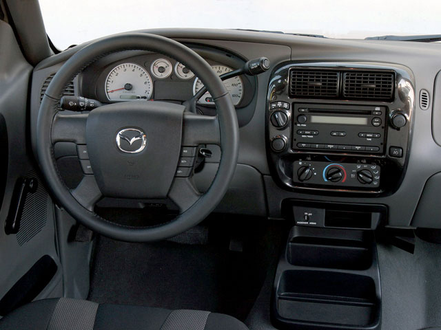 2008 Mazda B-Series Truck Prices and Values SE-5 2WD driver's dashboard