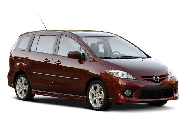 2008 Mazda Mazda5 Prices and Values Wagon 5D GT side front view