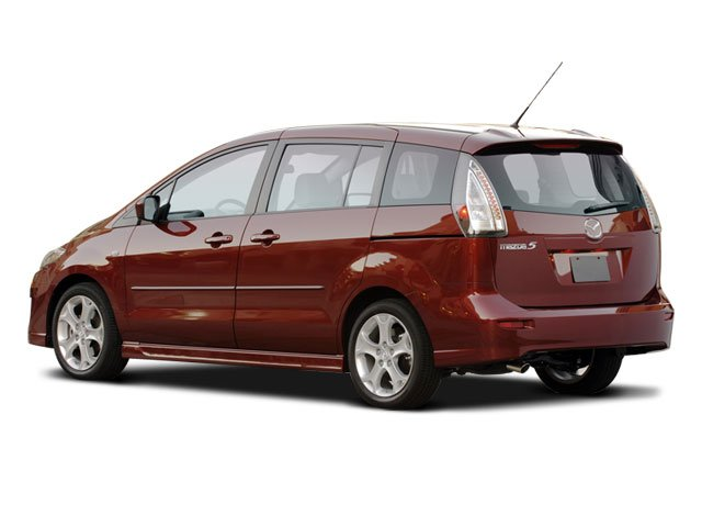 2008 Mazda Mazda5 Prices and Values Wagon 5D GT side rear view