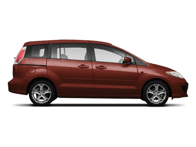 2008 Mazda Mazda5 Prices and Values Wagon 5D GT side view