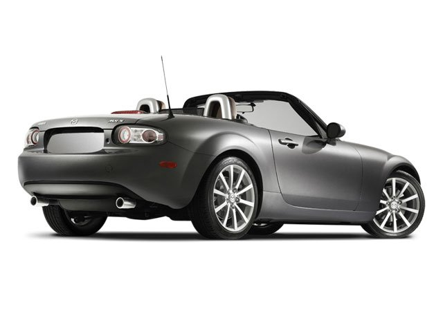 2008 Mazda MX-5 Miata Prices and Values Convertible 2D Sport side rear view