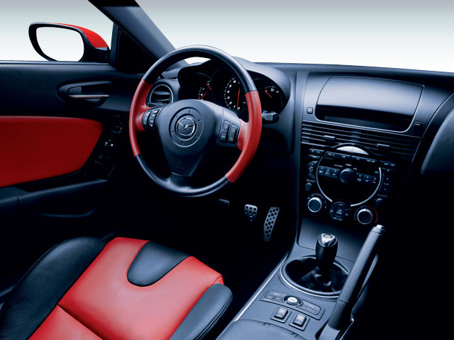 2008 Mazda RX-8 Prices and Values Coupe 2D GT driver's dashboard