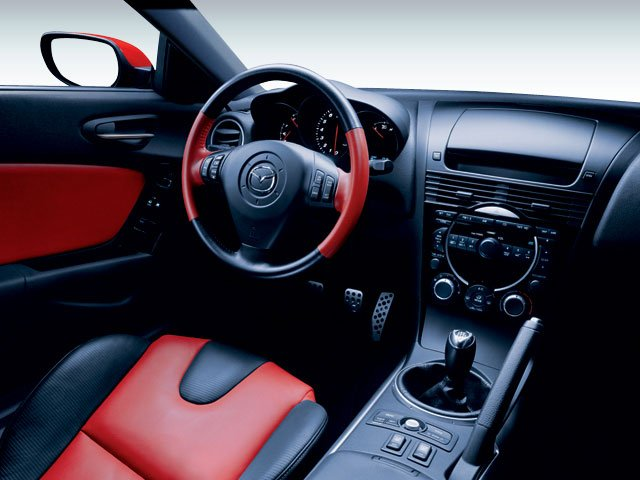 2008 Mazda RX-8 Prices and Values Coupe 2D (6 Spd) driver's dashboard