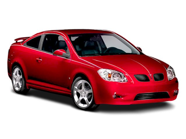 2008 Pontiac G5 Prices and Values Coupe 2D side front view