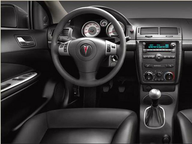 2008 Pontiac G5 Prices and Values Coupe 2D GT full dashboard