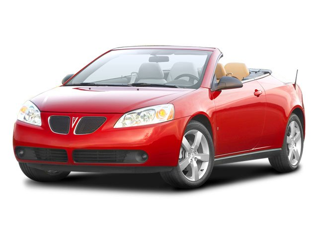2008 Pontiac G6 Pictures G6 Convertible 2D GT photos side front view