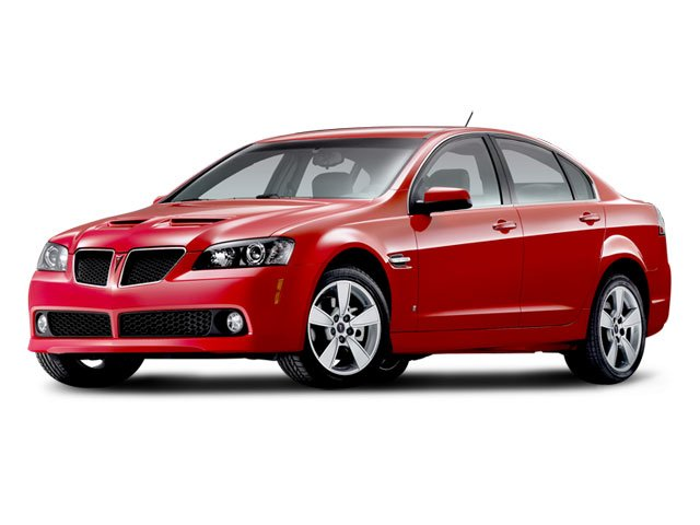 2008 Pontiac G8 Prices and Values Sedan 4D side front view